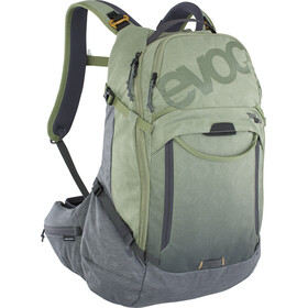 EVOC Trail Pro 26 Protector Backpack, light olive/carbon grey